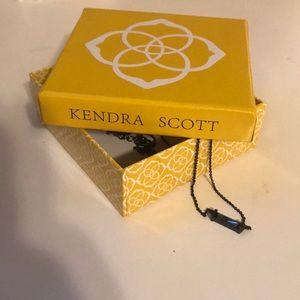 NWOT black Kendra Scott necklace